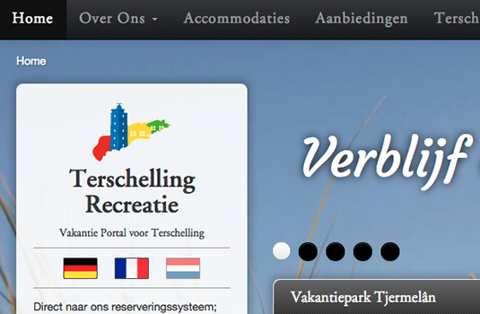 Screenshot Terschelling Recreatie